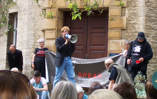 Oxford University Anti-Vivisection Demo, 2003